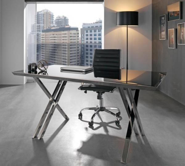 Latest contemporary home office furniture trendy for Contemporary home office furniture